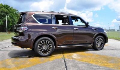 2015 INFINITI QX80 Limited AWD 59