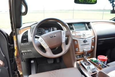 2015 INFINITI QX80 Limited AWD 77