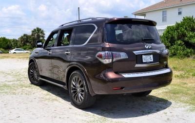 2015 INFINITI QX80 Limited AWD 8