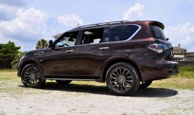 2015 INFINITI QX80 Limited AWD 9