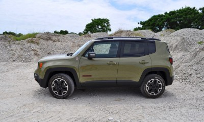 2015 Jeep RENEGADE Trailhawk Review 101