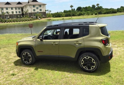 2015 Jeep RENEGADE Trailhawk Review 107