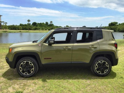 2015 Jeep RENEGADE Trailhawk Review 108