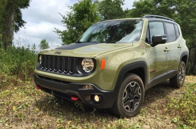 2015 Jeep RENEGADE Trailhawk Review 112