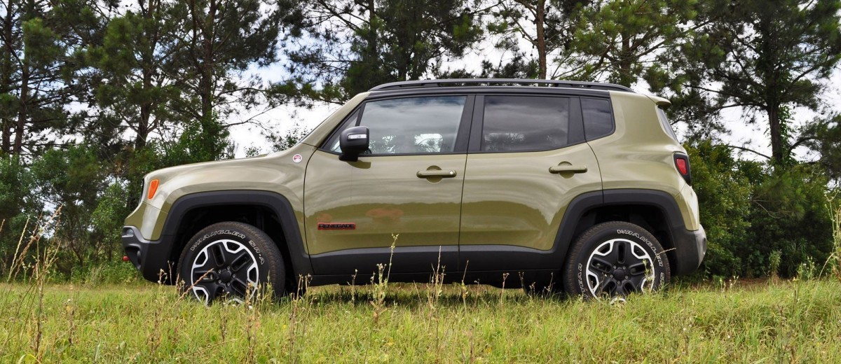 2015 Jeep RENEGADE Trailhawk Review 16