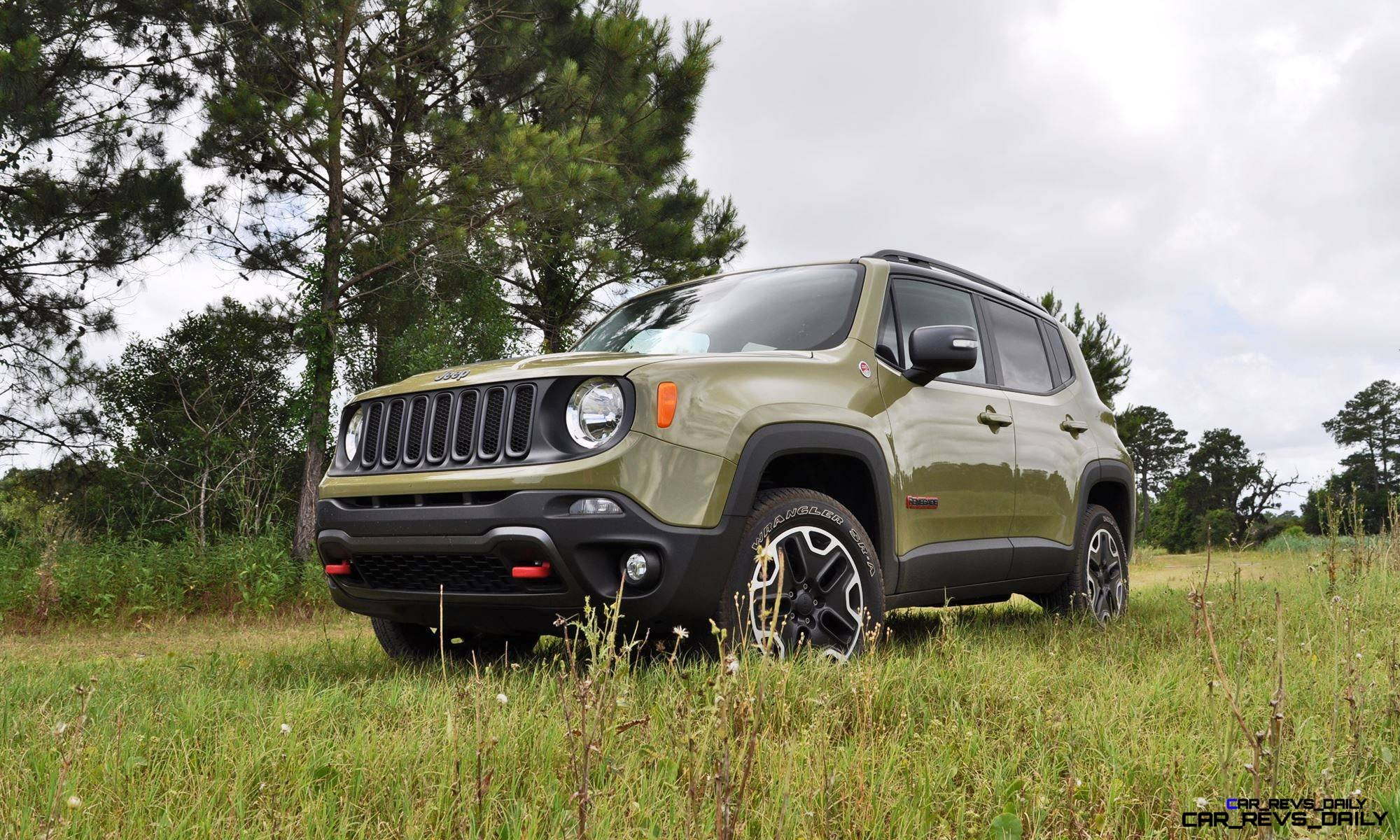 2015 Jeep RENEGADE Trailhawk Review 18