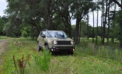 2015 Jeep RENEGADE Trailhawk Review 45