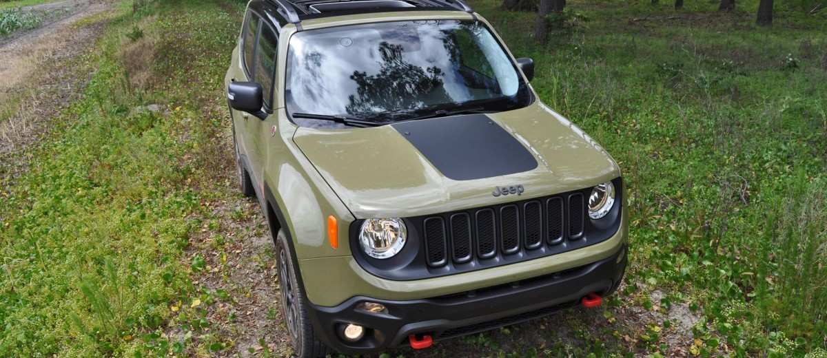 2015 Jeep RENEGADE Trailhawk Review 51