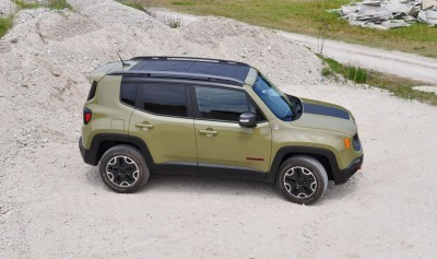 2015 Jeep RENEGADE Trailhawk Review 91