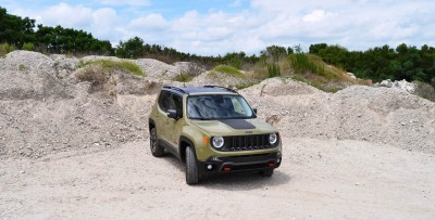 2015 Jeep RENEGADE Trailhawk Review 96