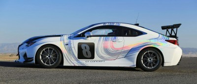 2015 Lexus RCF GT Concept Drops 900Lbs For Pikes Peak  1