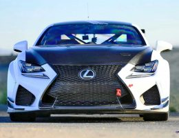 2015 Lexus RCF GT Concept Drops 900Lbs For Pikes Peak