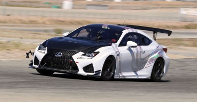 2015 Lexus RCF GT Concept Drops 900Lbs For Pikes Peak 13