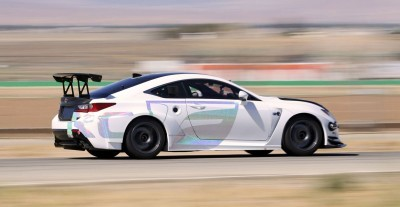 2015 Lexus RCF GT Concept Drops 900Lbs For Pikes Peak 14
