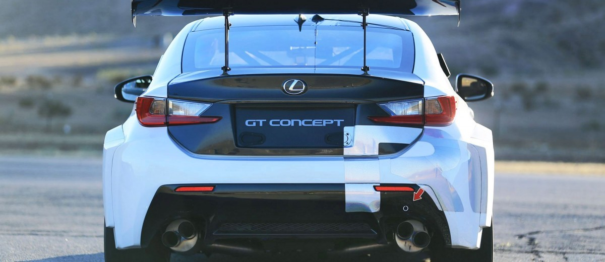 2015 Lexus RCF GT Concept Drops 900Lbs For Pikes Peak  15