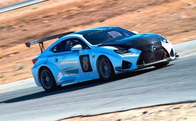 2015 Lexus RCF GT Concept Drops 900Lbs For Pikes Peak  2