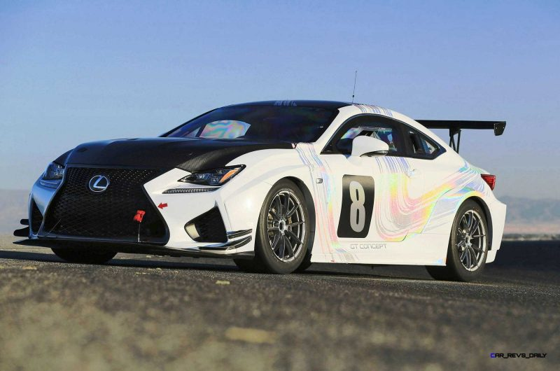 2015 Lexus RCF GT Concept Drops 900Lbs For Pikes Peak 3