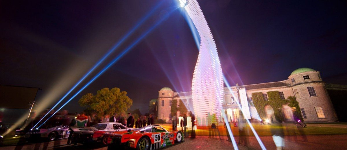 2015 Mazda LM55 Vision GT Tops Goodwood With 787B LeMans Legend 17