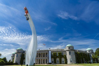 2015 Mazda LM55 Vision GT Tops Goodwood With 787B LeMans Legend 31