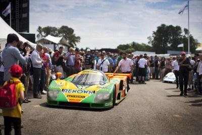 2015 Mazda LM55 Vision GT Tops Goodwood With 787B LeMans Legend 33