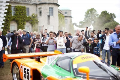 2015 Mazda LM55 Vision GT Tops Goodwood With 787B LeMans Legend 37