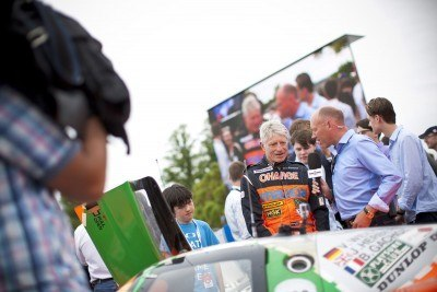 2015 Mazda LM55 Vision GT Tops Goodwood With 787B LeMans Legend 38