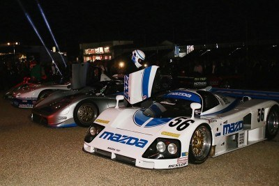 2015 Mazda LM55 Vision GT Tops Goodwood With 787B LeMans Legend 62