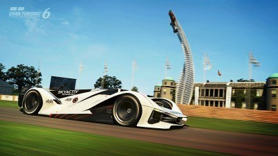 2015 Mazda LM55 Vision GT Tops Goodwood With 787B LeMans Legend 64