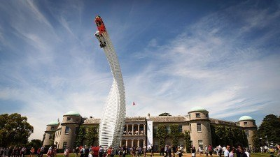 2015 Mazda LM55 Vision GT Tops Goodwood With 787B LeMans Legend 65