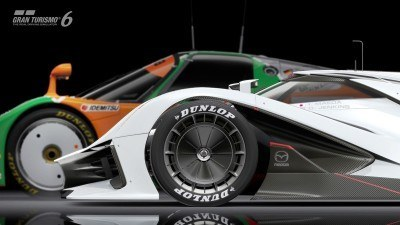2015 Mazda LM55 Vision GT Tops Goodwood With 787B LeMans Legend 69