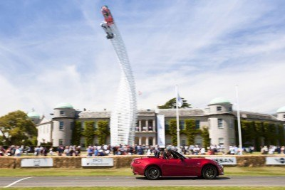 2015 Mazda LM55 Vision GT Tops Goodwood With 787B LeMans Legend 7