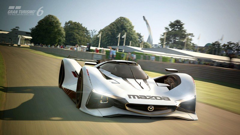 2015 Mazda LM55 Vision GT Tops Goodwood With 787B LeMans Legend 70