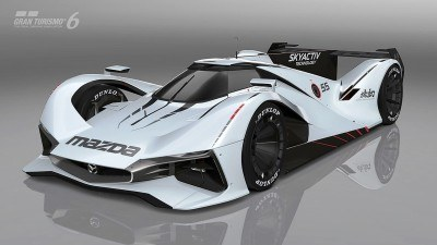 2015 Mazda LM55 Vision GT Tops Goodwood With 787B LeMans Legend 73