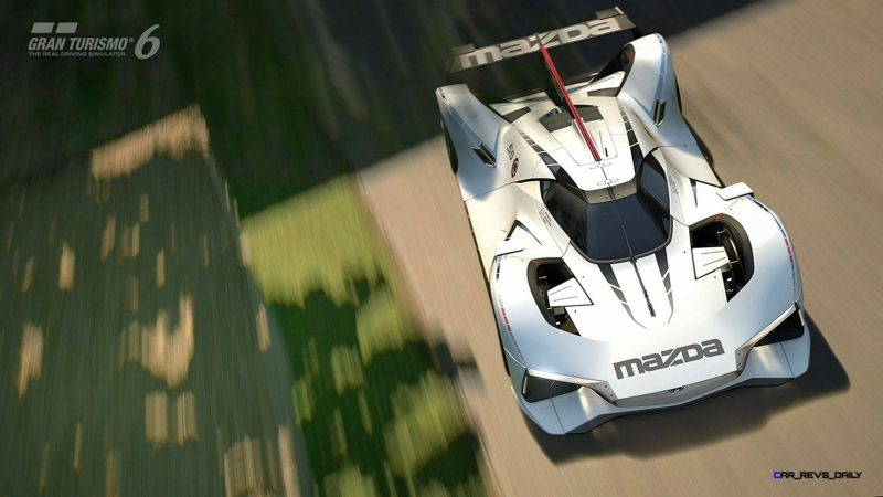 2015 Mazda LM55 Vision GT Tops Goodwood With 787B LeMans Legend 96