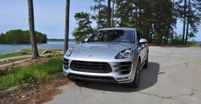 2015 Porsche MACAN TURBO Review Photos 28