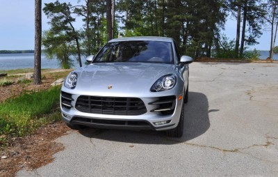 2015 Porsche MACAN TURBO Review Photos 37