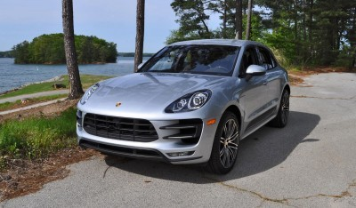 2015 Porsche MACAN TURBO Review Photos 38