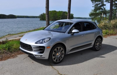 2015 Porsche MACAN TURBO Review Photos 40