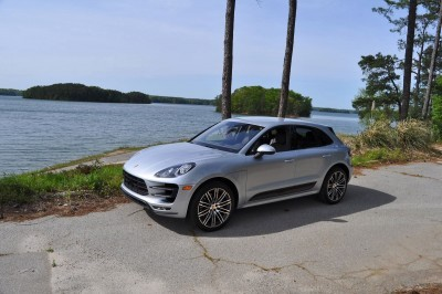 2015 Porsche MACAN TURBO Review Photos 42