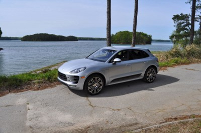 2015 Porsche MACAN TURBO Review Photos 43