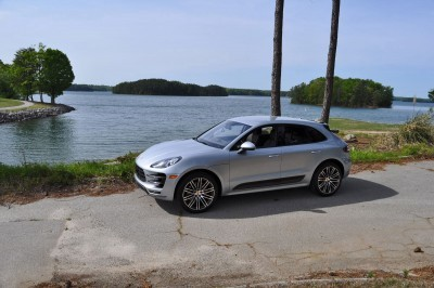 2015 Porsche MACAN TURBO Review Photos 46