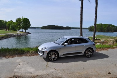 2015 Porsche MACAN TURBO Review Photos 47