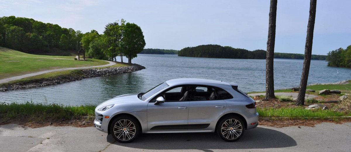 2015 Porsche MACAN TURBO Review Photos 48