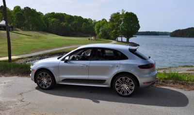 2015 Porsche MACAN TURBO Review Photos 49