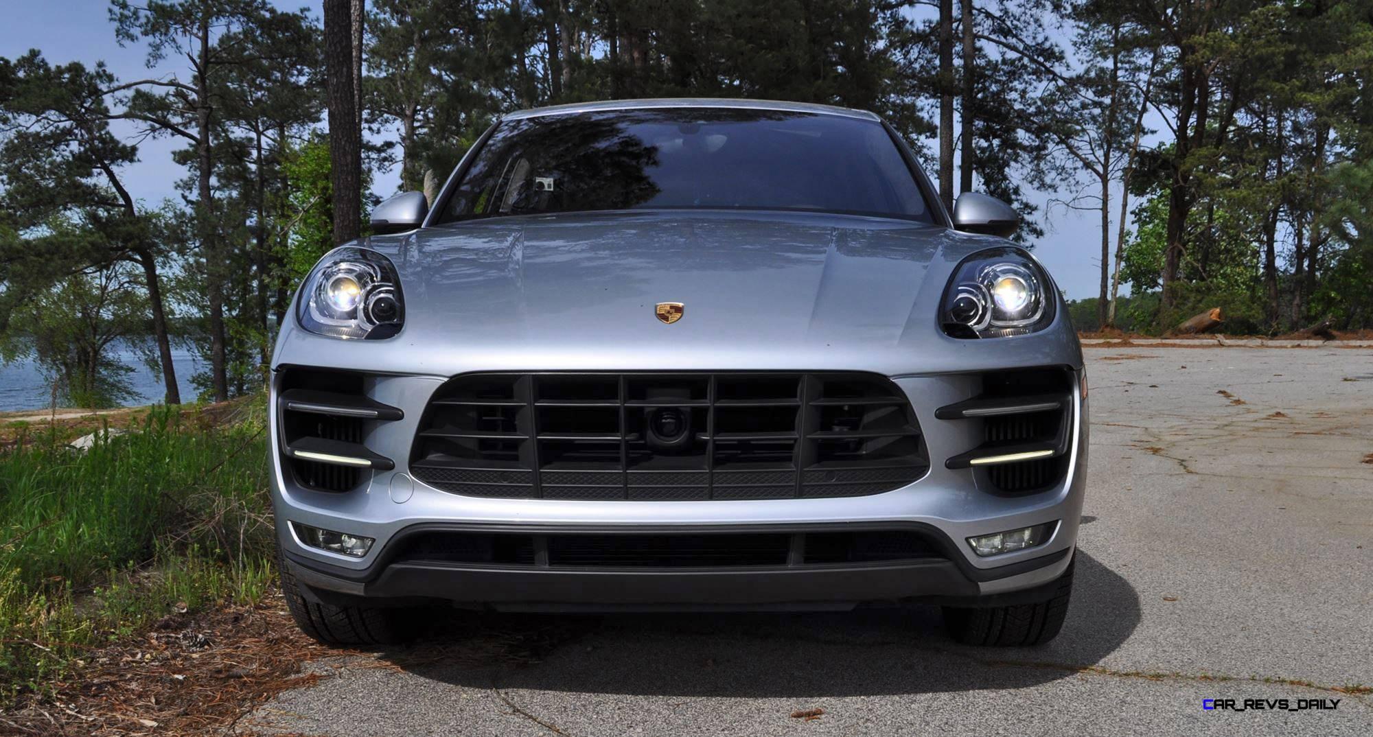 Original 2015 Porsche MACAN TURBO Review