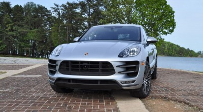 2015 Porsche MACAN TURBO Review Photos 50
