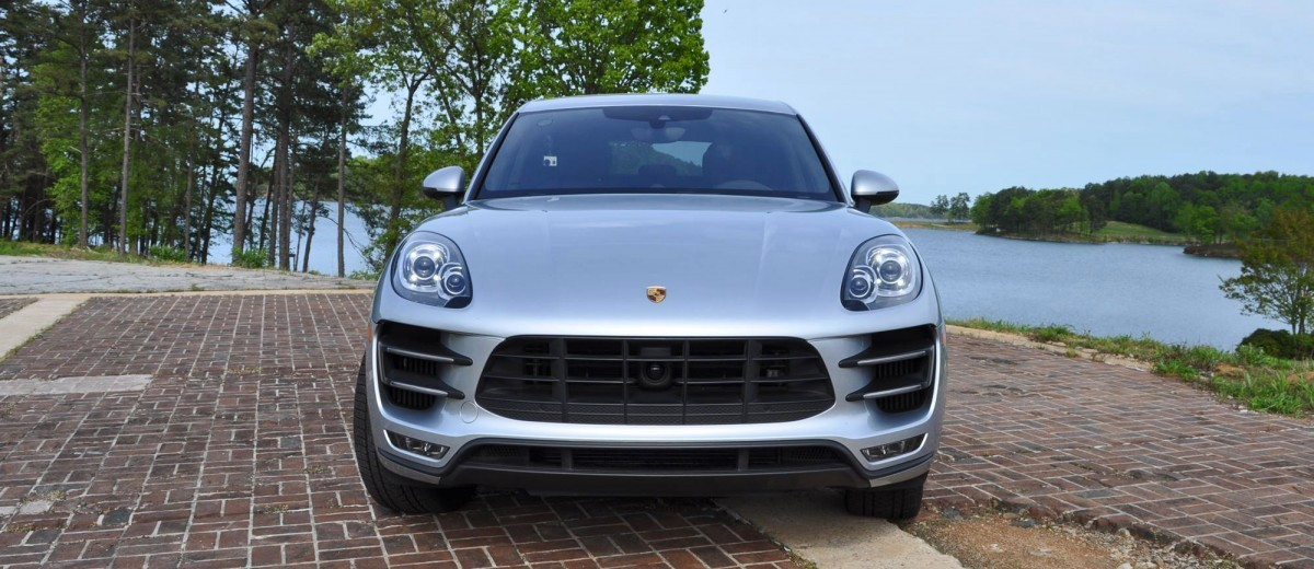 2015 Porsche MACAN TURBO Review Photos 51