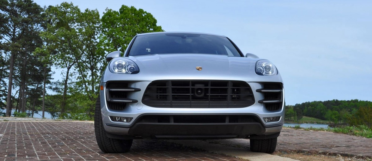2015 Porsche MACAN TURBO Review Photos 53
