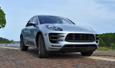 2015 Porsche MACAN TURBO Review Photos 56