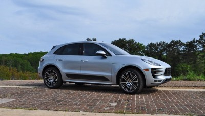 2015 Porsche MACAN TURBO Review Photos 58